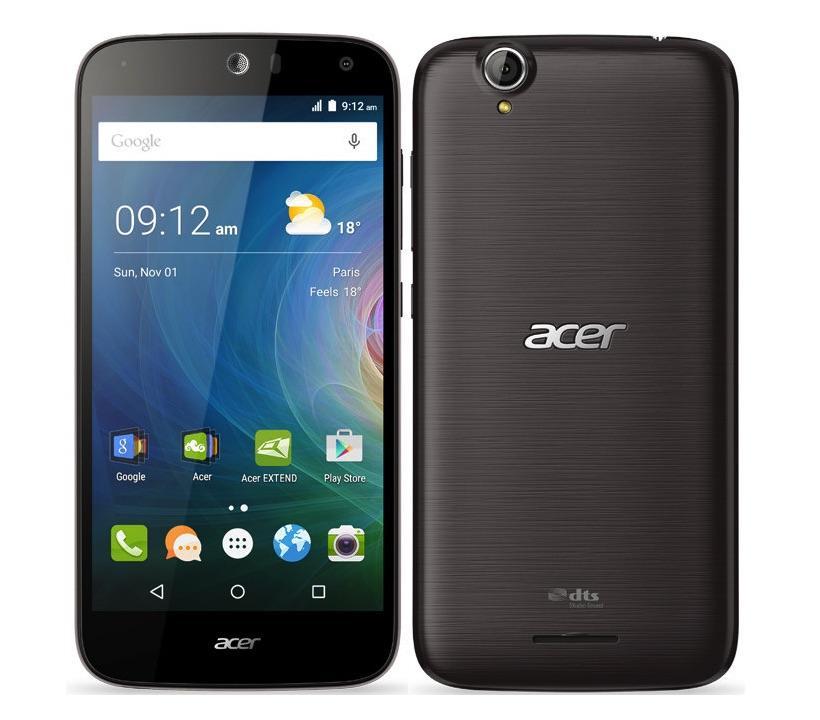 Acer Liquid Z630 Dual Sim 16GB black ENG/RUS MLX019997 Mobilais Telefons