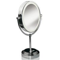 BaByliss divpusīgs ov las formas spogulis ar apgaismojumu, 22 x17cm Spogulis