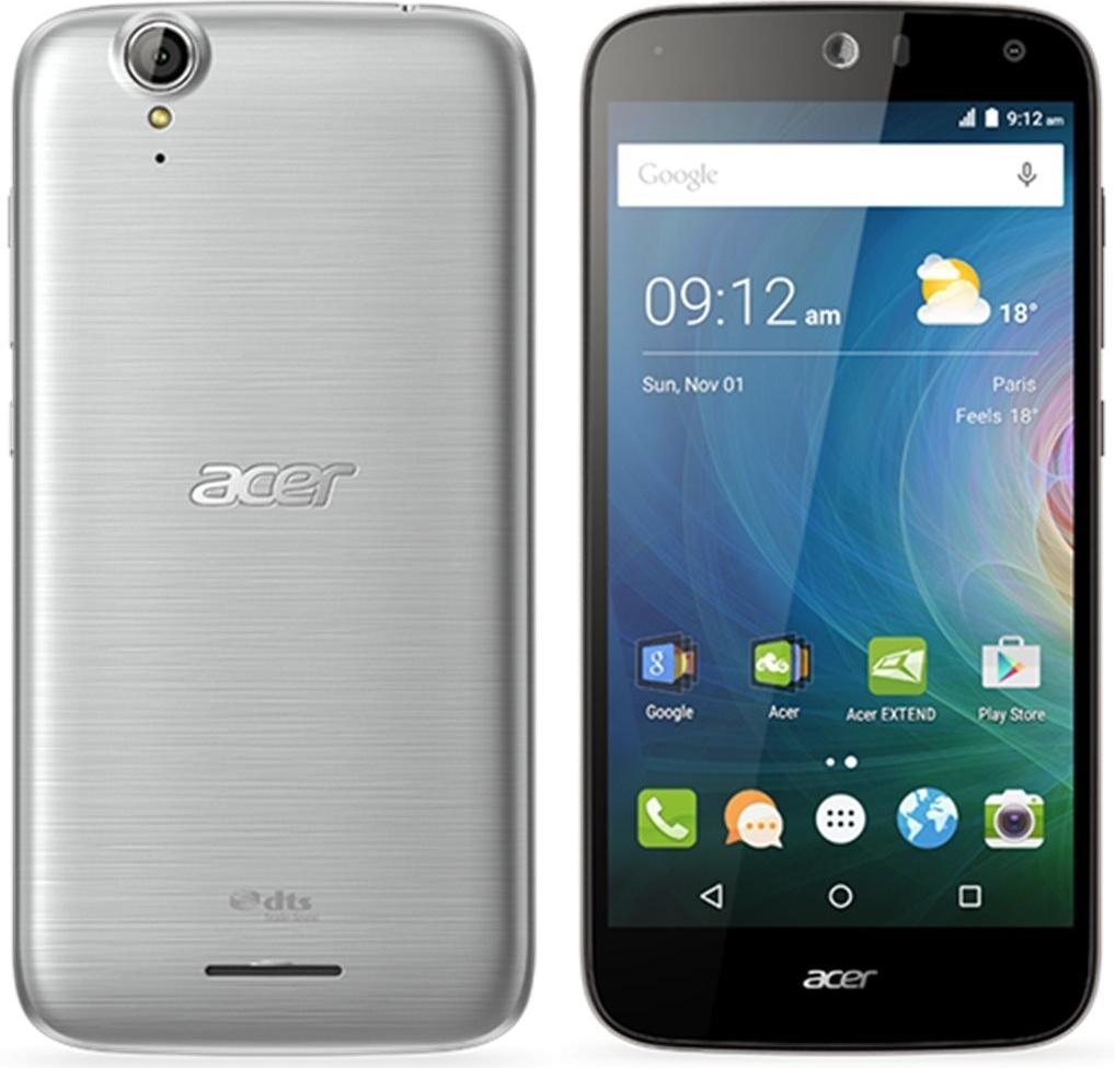 Acer Liquid Z630 Dual Sim 16GB silver ENG/RUS MLX020008 Mobilais Telefons