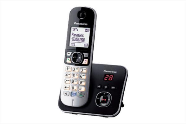 Panasonic KX-TG6821JTB black telefons