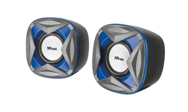 Trust Xilo Compact 2.0 Speaker Set - blue datoru skaļruņi