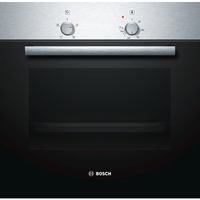 Bosch Black, Push - Pull knobs, Height Dimensions of the product (HxWxD): 595 x 595 x 548 mm;Required niche size for installation: 575-597 x Cepeškrāsns
