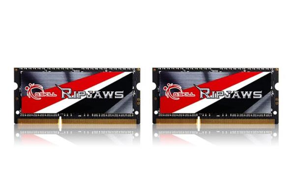 G.Skill Ripjaws 16GB DDR3 16GRSL Kit SO-Dimm 1600 CL9 (2x8GB) operatīvā atmiņa
