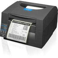 Citizen 1000815 CL-S521 DT, USB, RS232, Grey ZPL, 203dpi printeris