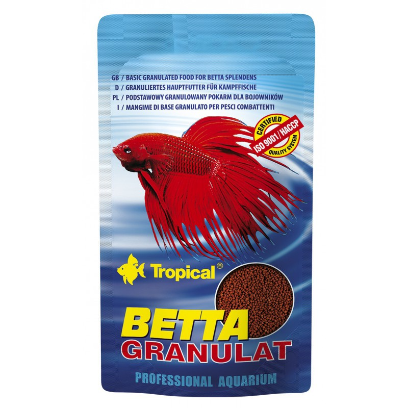 Tropical Tropical Betta Granulat 10g zivju barība