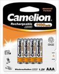 Camelion Rechargeable Batteries Ni-MH 4x AAA (R03) 1100mAh Baterija