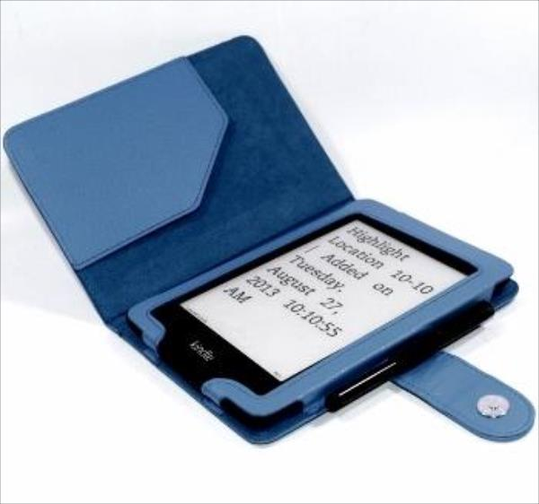 C-TECH PROTECT Case for Kindle PAPERWHITE with WAKE/SLEEP function, blue Elektroniskais grāmatu lasītājs