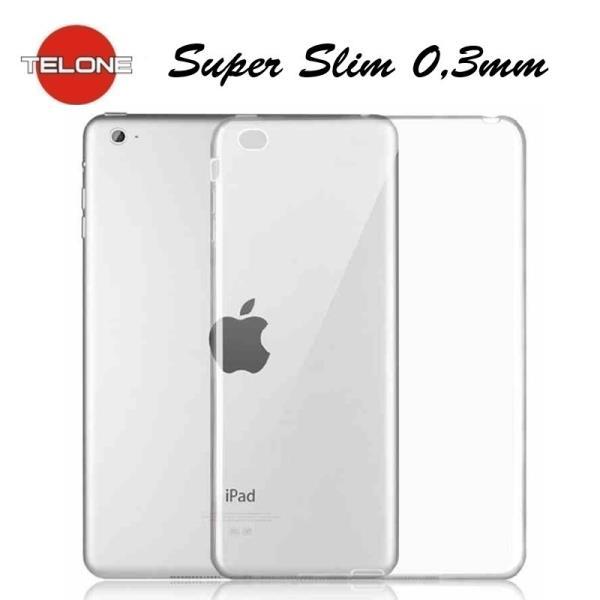 Telone Ultra Slim 0.3mm Back Case Apple iPad Mini 4 super plāns planšetdatora apvalks Caurspīdīgs planšetdatora soma