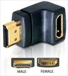 Delock Adapteris HDMI male > HDMI female 90