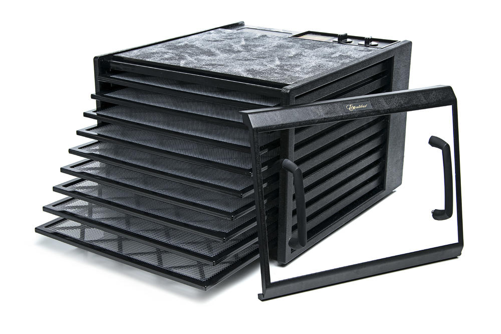 Excalibur 4926TBCD Black, 600 W, Number of trays 9, Temperature control, Integrated timer Augļu žāvētājs