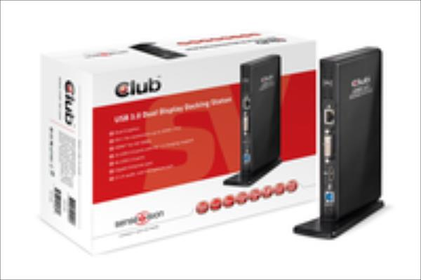 CLUB 3D DOCK STATION adapteris