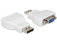 Delock Adapter Displayport 1.1 male > VGA female white karte