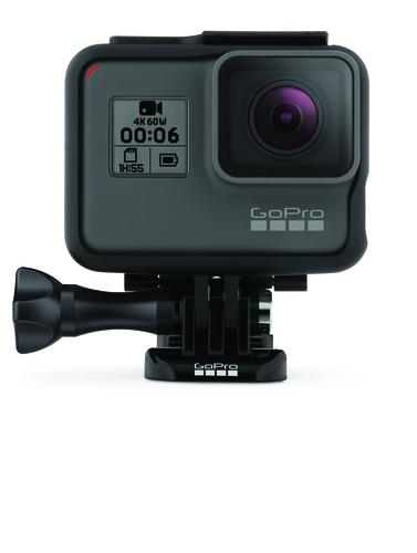 GoPro HERO6 Black Built-in display, Built-in microphone, Waterproof, Touchscreen, Removable 1220mAh lithium-ion rechargeable, Wi-Fii sporta kamera