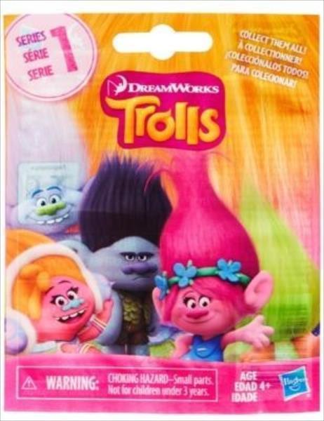 Hasbro Trolls slēgtā paciņā pārsteigums bērnu rotaļlieta