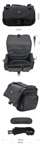 ESPERANZA Bag / Case for Digital camera and Accessories ET159 |Black soma foto, video aksesuāriem