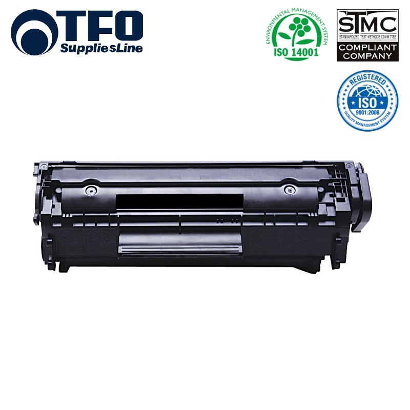 TFO HP Q2612A / Canon FX-10 FX-9 CRG-703 CR-303 CRG-103 Lāzedrukas kasete 1.6K Lapas HQ Premium Analogs aksesuārs mobilajiem telefoniem