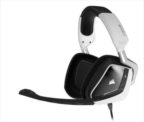 Corsair Headset USB Corsair Gaming VOID 7.1 white austiņas