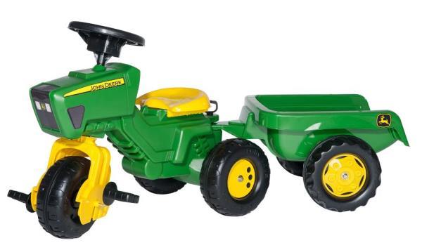 Traktors ar pedāļiem rollyTrac John Deere (2.5-5g.)