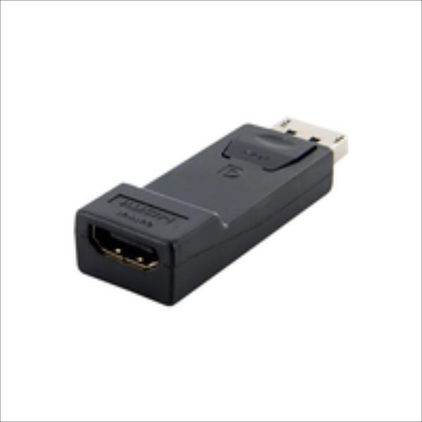 4World Adapter DisplayPort [M] > HDMI [F], black