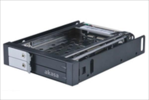 AKASA HDD mobile rack    3.5 PC bay AK-IEN-03 cietā diska korpuss