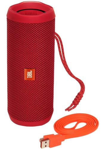 JBL FLIP 4 Bluetooth Red pārnēsājamais skaļrunis
