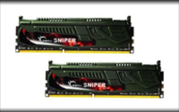 G.Skill Sniper 16GB DDR3 16GSR Kit 2400 CL11 (2x8GB) operatīvā atmiņa