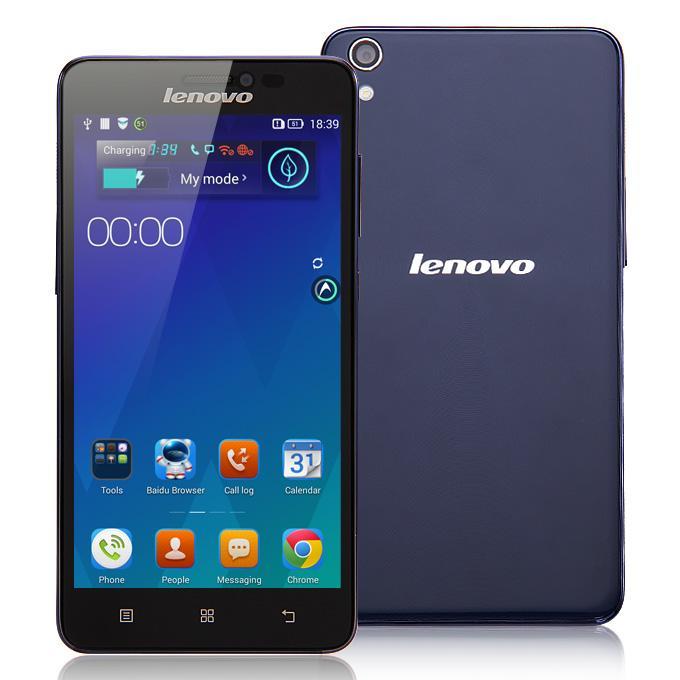 Lenovo S850 Dual blue ENG/RUS MLX017980 Mobilais Telefons
