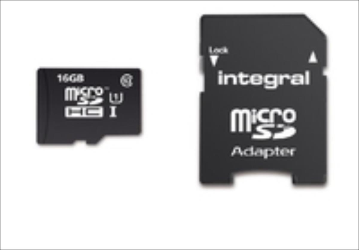 Integral micro SDHC/XC Cards CL10 16GB - Ultima Pro - UHS-1 90 MB/s transfer atmiņas karte