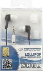 ESPERANZA Audio Stereo Earphones LOLLIPOP EH146K Black austiņas
