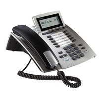Systemtelefon AGFEO ST22 ISDN silver telefons