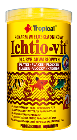 Tropical Ichtio-Vit 250ml zivju barība