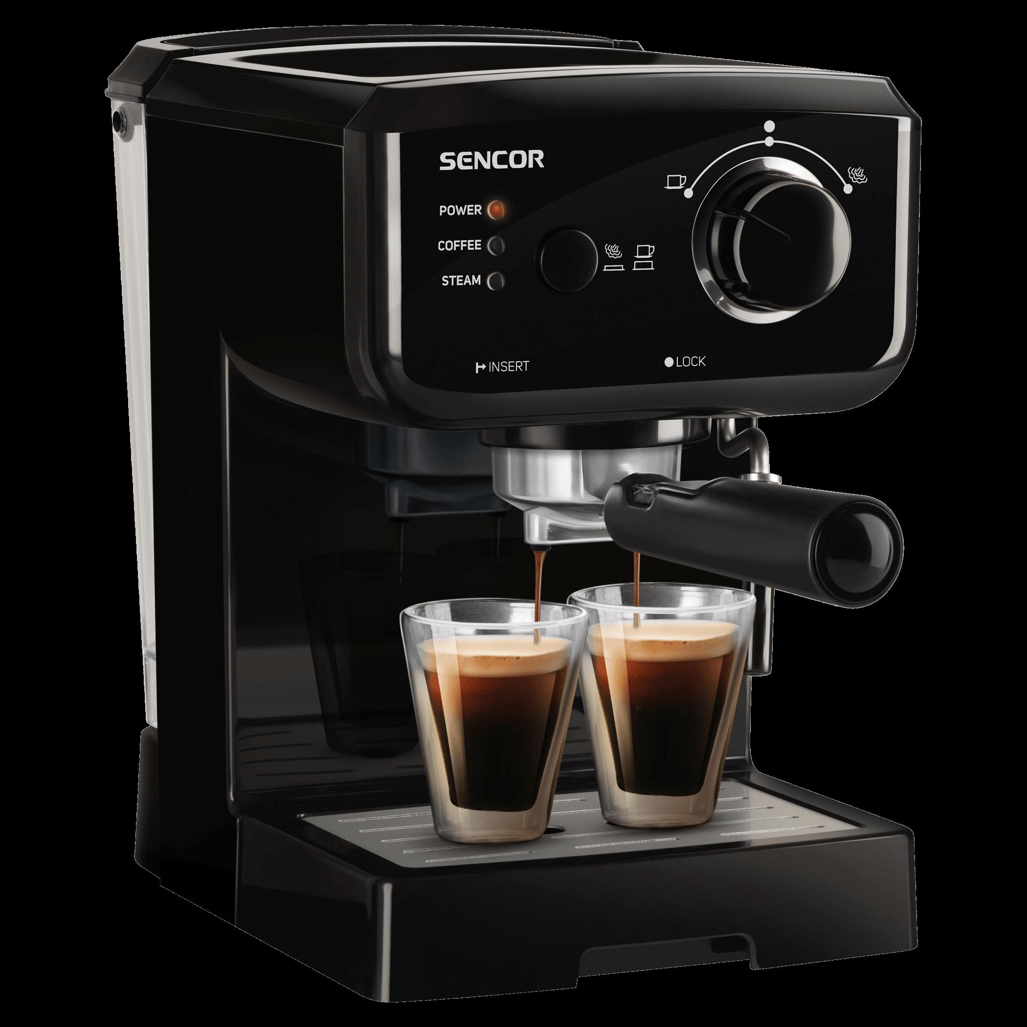 Sencor Coffee machine SES 1710BK Kafijas automāts