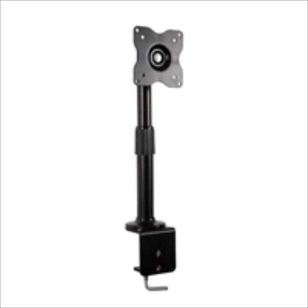 4World Desk Mount for LCD 10-32'' tilt/swivel/height-adjustable load 15kg BLK TV aksesuāri
