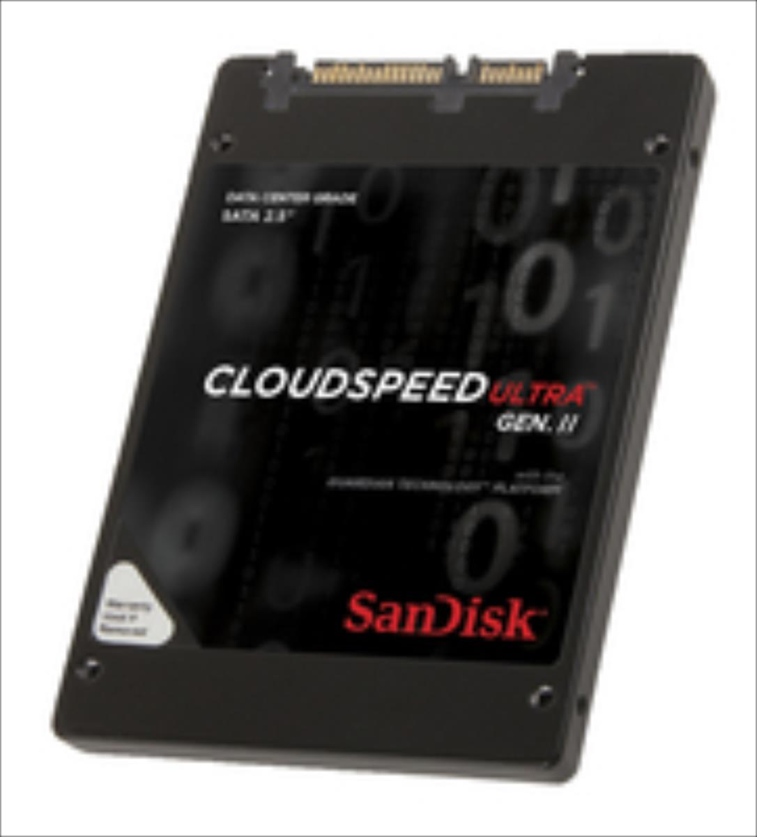 SanDisk CloudSpeed Ultra  Gen. II 400GB SATA3 (SDLF1DAM-400G-1HA1) SSD disks