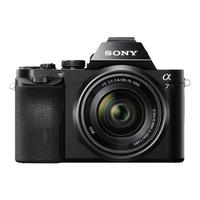 Sony Alpha A7 ILCE-7K FE 28-70mm f/3.5-5.6 OSS Spoguļkamera SLR