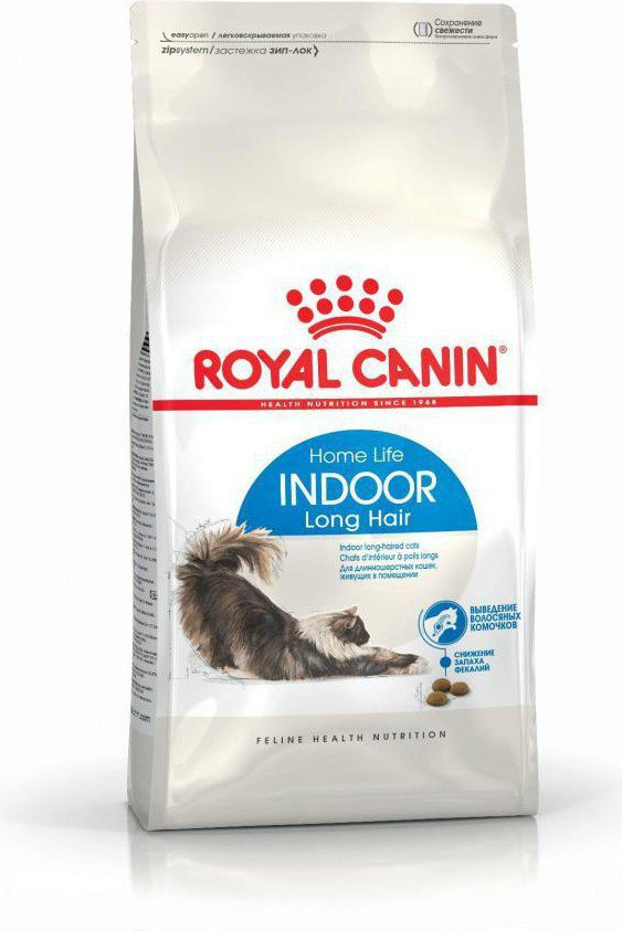 Royal Canin Indoor Long Hair 4 kg kaķu barība