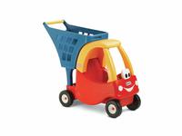 Little Tikes Cozy wozek na zakupy/czerwony Radiovadāmā rotaļlieta