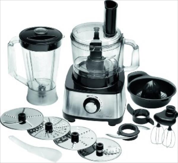 ProfiCook PC-KM 1063 Compact food processor, Work bowl 1,2L, Mixing bowl: 1,75L, Variable speed level settings, 11 accessory Virtuves kombains