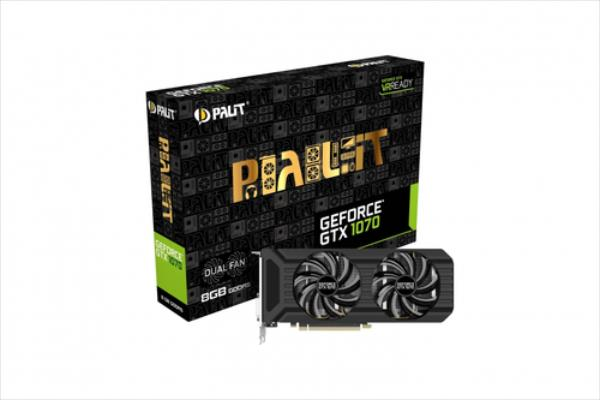 PALIT GTX1070 DUAL 8GB  DDR5 256BIT DVI/HDMI/3D video karte