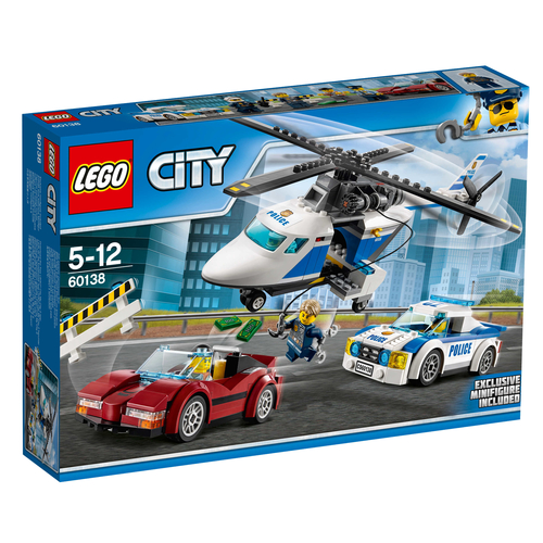 LEGO City 60138 High Speed Chase LEGO konstruktors