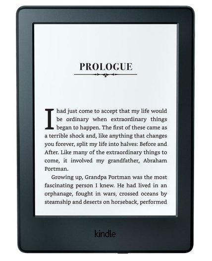 Amazon Kindle E-reader - Prologue Black 4GB Elektroniskais grāmatu lasītājs