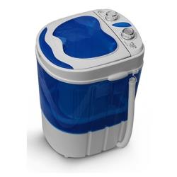 Adler AD 8051 Mini washing machine with spinning function, Washing capacity up to 3kg, Spinning capacity up to 1kg, White-Blue Veļas mašīna