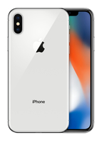 IPhoneX 64GB Silver Mobilais Telefons