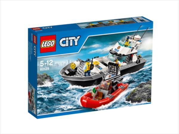 LEGO Police Patrol Boat  60129 LEGO konstruktors