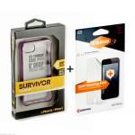 Griffin sets 2in1 GB36012 ekrāna aizsargplēve + GB36414 S Apple iPhone 5 5S aksesuārs