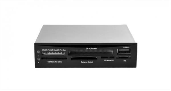 CARD READER I-BOX 88in1 + USB 3.0, BLACK, INTERNAL aksesuārs datorkorpusiem