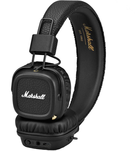 Marshall Major II Bluetooth Black austiņas