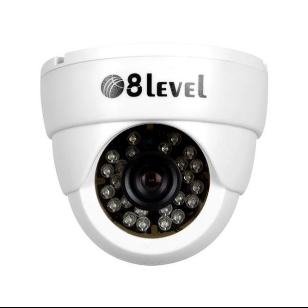 8level AHD camera 1MP AHD-I720-362-1 BNC 3.6mm 720p novērošanas kamera