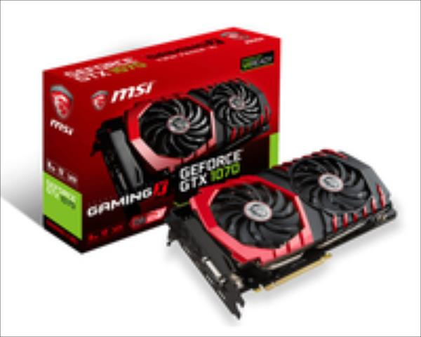 MSI GeForce GTX1070 Gaming X 8G 8GB (GTX 1070 GAMING X 8G) video karte