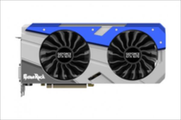 PALIT GeForce GTX 1070 GameRock, 8GB GDDR5 (256 Bit), HDMI, DVI, 3xDP video karte
